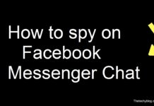 How to spy on Facebook Messenger Chat