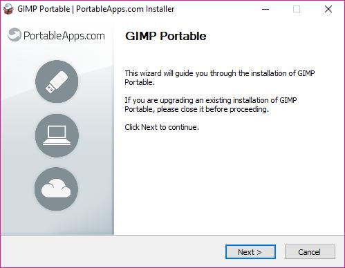 GIMP Portable, GIMP Portable install, GIMP Portable download