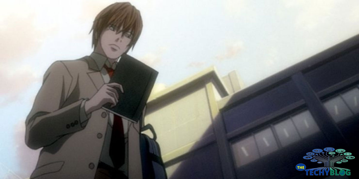 light yagami Death note character