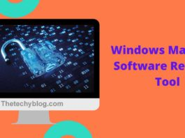 Windows Malicious Software Removal Tool,