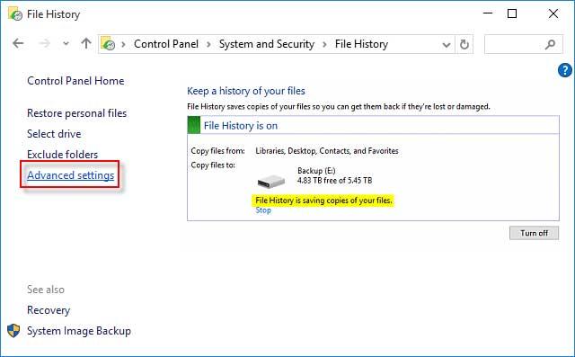 Using File method