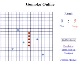 How to play Gomoku