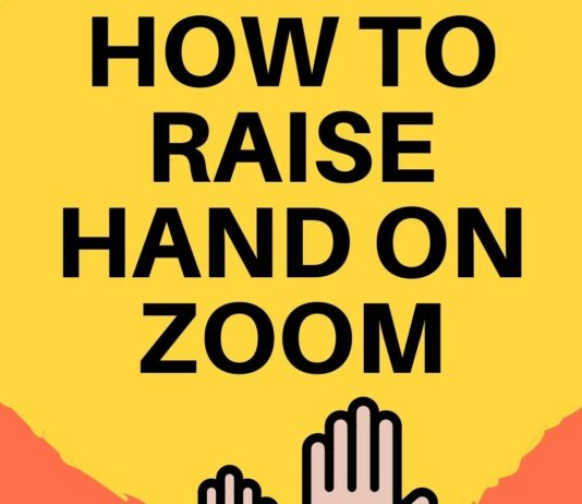 How To Raise A Hand In Zoom
