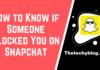 Block Someone on Snapchat