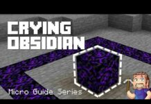 How to get Crying Obsidian in Survival Mode